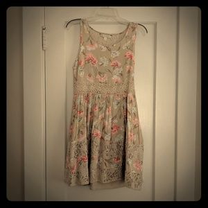 Lauren Conrad a line dress